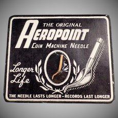Vintage Phonograph Needle - Old Aeropoint Coin Machine Phonograph Needle
