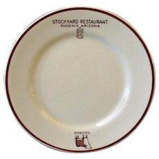 Vintage Advertising Restaurant China – Tovrea Stockyard Restaurant - Phoenix Arizona