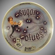 Vintage 78 Vogue Picture Record - Basin Street Blues and Sugar Blues