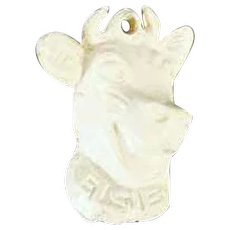 Vintage Elsie the Borden Cow Advertising Charm