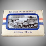 Vintage Souvenir Photo Pack Mailer - Chicago Black & White Photographs