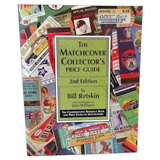 Old Reference Book - Matchcover Collector's Price Guide - 2nd Edition - 1997 Paperback
