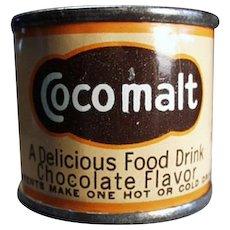 Vintage Cocomalt Tin - Nice Little Advertising Sample Tin