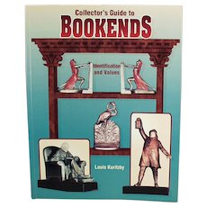 Reference Book - Collector's Guide to Bookends 1998 by Louis Kuritzky