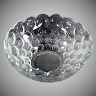 Vintage Heisey Glassware - #1506 Provincial Pattern Serving Bowl