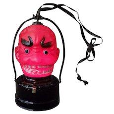 Vintage Halloween Novelty B.O. Celluloid Devil Lantern
