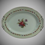 Vintage O. J Sango China - Large 16in. Serving Platter