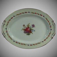 Vintage O. J Sango China - Large 16in. Serving Platter