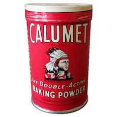 Vintage Calumet Baking Powder Sample Tin - Unopened