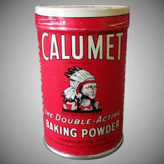 Vintage Calumet Baking Powder Sample Tin - Unopened