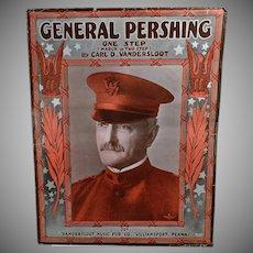 Vintage Sheet Music - 1918 General Pershing One Step