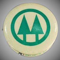 Vintage Celluloid Advertising Tape Measure - St. Croix Co-Op