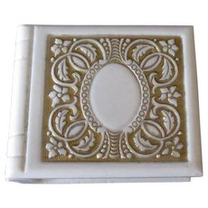 Vintage Ring Box – Book Style Perfect for a Gold Band or Locket