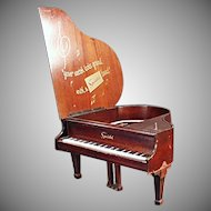 Vintage Speidel Grand Piano Music Box - Jewelry Store Advertising Display