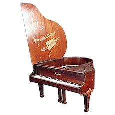 Vintage Speidel Grand Piano Music Box - Jewelry Store Advertising Display