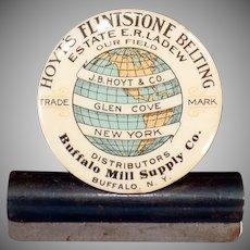 Vintage Celluloid Advertising Clip – Hoyt's Flintstone Belting