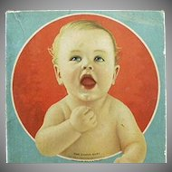 Vintage Vanta Baby Clothes Box - Nice Advertising for Decorating