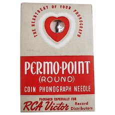 Vintage Coin Operated Phonograph Needle - RCA Victor Permo-Point