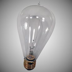 Vintage Light Bulb – 32/120 Sunlight - Looped Electric Filament - Works