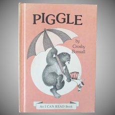Child's Vintage I Can Read Book - Piggle 1973 First Edition