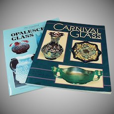 Old Reference Books by Bill Edwards - Opalescent Glass and Carnival Glass