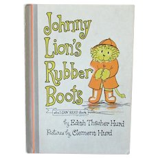 Child's Vintage Storybook – Johnny Lion's Rubber Boots - 1972 First Edition