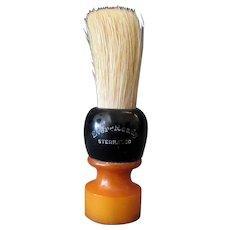 Vintage Ever Ready Shaving Brush - Butterscotch Bakelite Handle