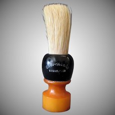 Vintage Ever Ready Shaving Brush - Butterscotch Bakelite Handle