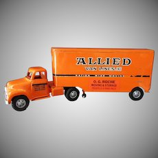 Vintage Tonka Allied Van Lines Semi-Truck 1957 - Original Condition