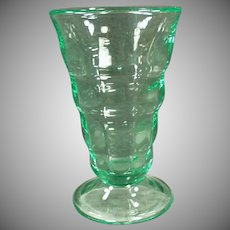 Vintage Soda Fountain Malt Glass - Paden City Green