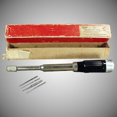 Vintage Millers Falls Tool -188A  Automatic Drill with Original Box