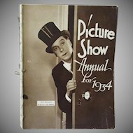 Vintage Picture Show Annual for 1934 - Great Motion Picture Memorabilia