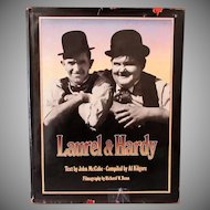 Vintage Hardbound Book – Laurel & Hardy – Great Pictorial History – First Edition