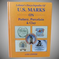 Vintage Reference Book – Lehner's Marks on Pottery, Porcelain & Clay - Hardbound