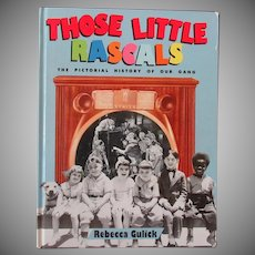 Vintage Hardbound Book – Those Little Rascals – Our Gang Pictorial History