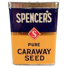 Vintage Spencer's Spice Tin - David Spencer Ltd. of Vancouver