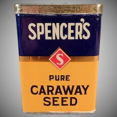 Vintage Spencer's Spice Tin - David Spencer Ltd. of Vancouver