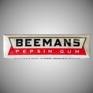 Vintage Beemans Pepsin Chewing Gum – Package of 5 Sticks