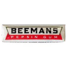 Vintage Beemans Pepsin Chewing Gum – Package of 5 Sticks