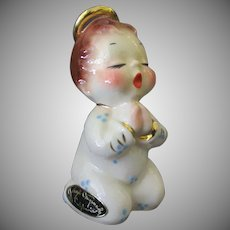 Vintage California Josef Original – Now I Lay Me - Angel