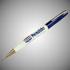 Vintage Ritepoint Mechanical Advertising Pencil - Standard Oil Permalube