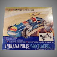 Vintage Hubley Scale Model Metal Kit - Indianapolis 500 Race Car #852K-300
