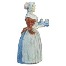Vintage Baker's Chocolate Advertising Girl Pencil Sharpener