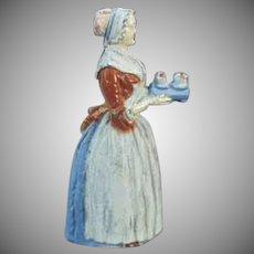 Vintage Baker's Chocolate Advertising Girl Pencil Sharpener