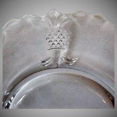 Vintage Heisey Glassware – #1567 Plantation Pattern Salad Plate – 2 Available