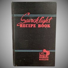 Vintage Cookbook - 1944 17th Edition Household Searchlight Recipe Book