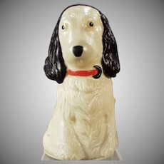 Vintage Celluloid Dog Tape Measure - Figural Spaniel - Japan