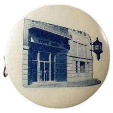 Vintage Advertising Tape Measure - Rock Rapids State Bank - Iowa