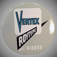 Vintage Vertex Roytype Ribbon Tin – Royal Typewriter Company