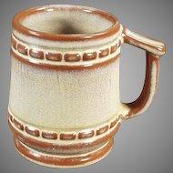 Vintage Frankoma Pottery C-10 Coffee Mug in Desert Gold